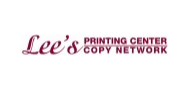 lee's printing center logo